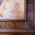 Virgen Guadalupe cuerpo completo madera Rustica