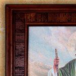 San Judas Tadeo cuadro en madera Rustica